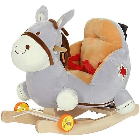 Mecedoras Caballo de oscilación para niños Juguete de bebé ...
