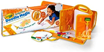 Buy Crayola Doodle Magic Color Mat Combo Pack Orange Online At Low Prices In India Amazon In