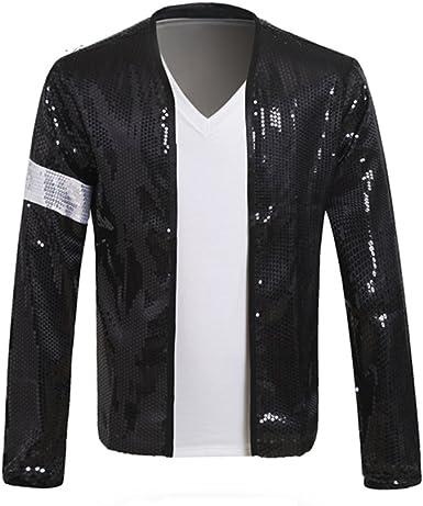 kissworlds Michael Jackson Billie Jean chaqueta disfraz con ...