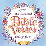 The Illustrated Bible Verses 2017 Wall Calendar