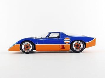 McLaren M6 Gt 1969 Gulf Edition Limited Edition 100 pcs 1:18 Model TECNOMODEL
