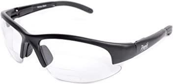 c91eca6366 Rapid Eyewear Mens   Womens CLEAR BIFOCAL + 2.5 STRENGTH SAFETY GLASSES  With Reading Segment for