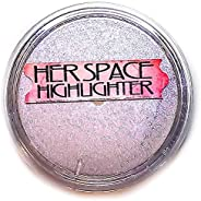 Purple - Her Space- All Over Highlighter - Duochrome- Finishing Powder - Be Queenly Beauty