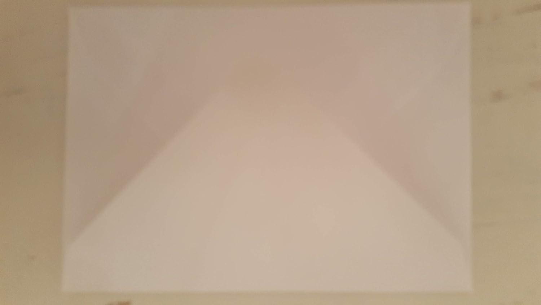 100 x Crisp Plain White Premium C7 Small Mini A7 Card Envelope Blanks (RSVP) Tiger Cub Stationery + Craft