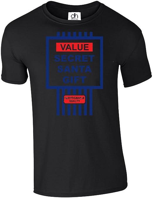 Funny Secret Santa Gift Tesco Value Spoof Christmas Work X-mas Present T-shirt