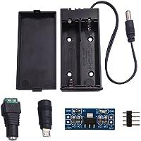 DSD TECH 18650 Soporte de batería con 2 Ranuras incorporadas para Arduino y Bricolaje