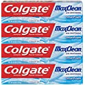 4-Pack Colgate Max Clean with Whitening Foaming Toothpaste
