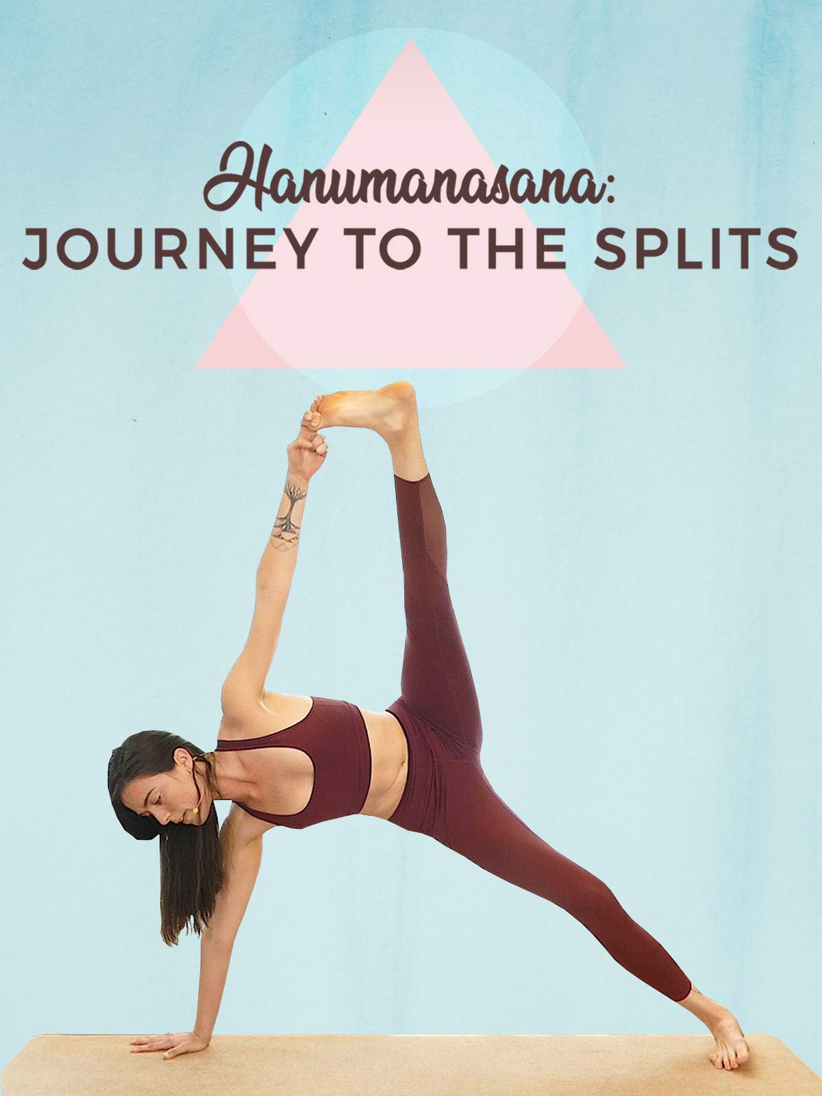 1 Hour Intermediate Flow - Hanumanasana - Journey To The Splits on Amazon Prime Video UK