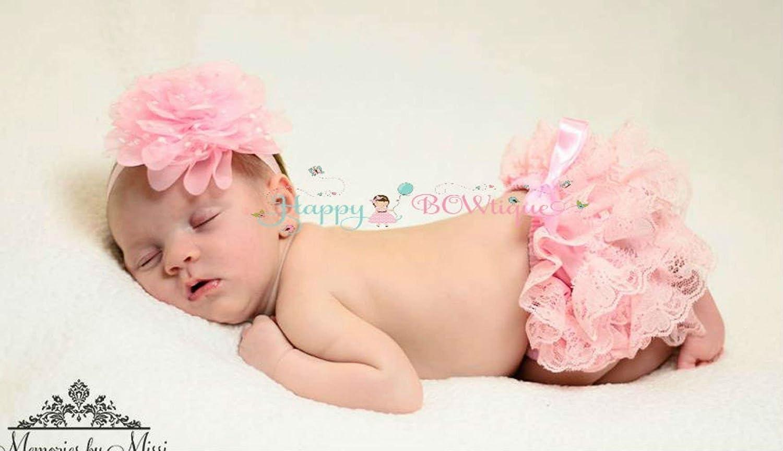 Newborn Baby Pink Bloomer Set~ Newborn Baby Bloomer
