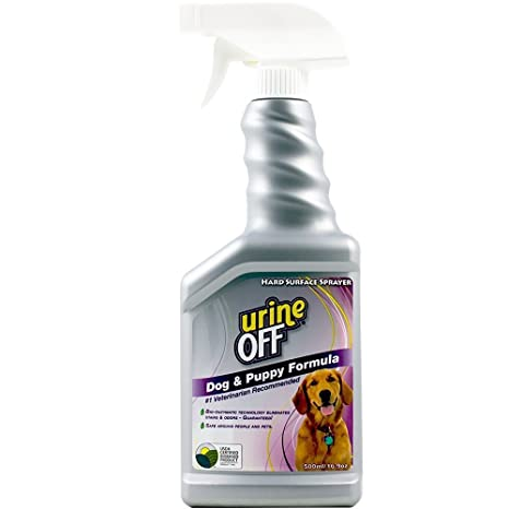 Urine Off Dog & Puppy Formula Sprayer Odor and Stain Remover for Pets 500ml
