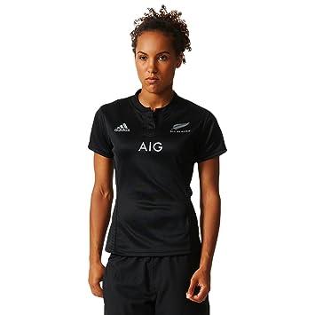 adidas Performance - Mujer Réplica Camiseta Jugador de - Nueva Zelanda Rugby All Blacks: Amazon.es: Ropa y accesorios