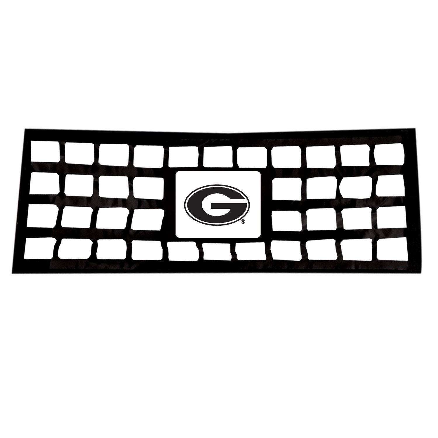 Pilot Automotive TGC-930F Reflective Collegiate Tailgate Net Full Size Pick Ups University of Georgia