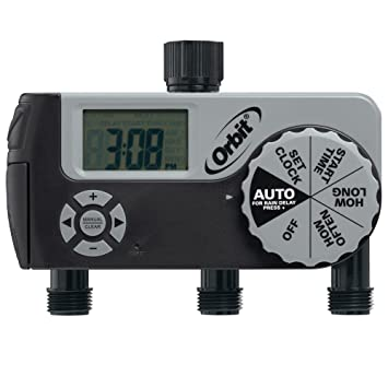 Amazoncom Orbit 56233D 3 Outlet Digital Watering Timer 1