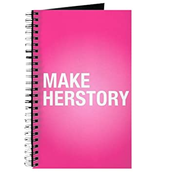 amazon com cafepress make herstory spiral bound journal
