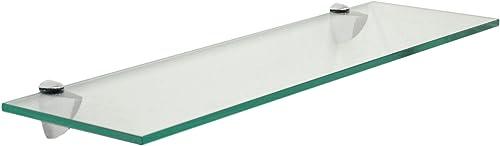 6 X 36 Glass Shelf – Chrome Finish