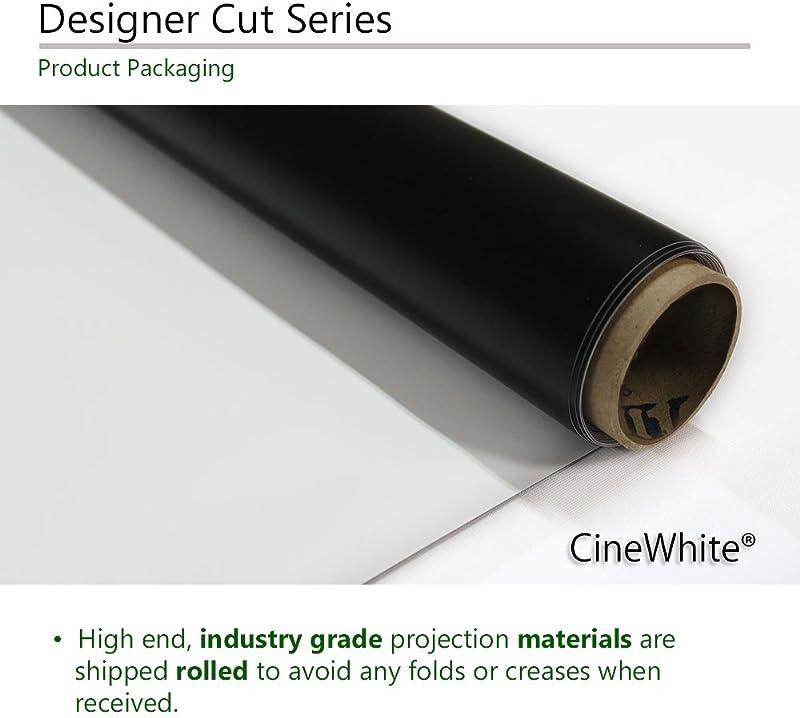 Elite Screens Designer Cut Series, 135-inch 16:9, 8K 4K Ultra HD Matte White DIY Raw Projector Screen Material