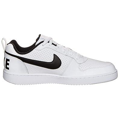 size 40 7ae85 ba0e6 Nike Men s Court Borough Low White Black Casual Shoes (9 UK India)