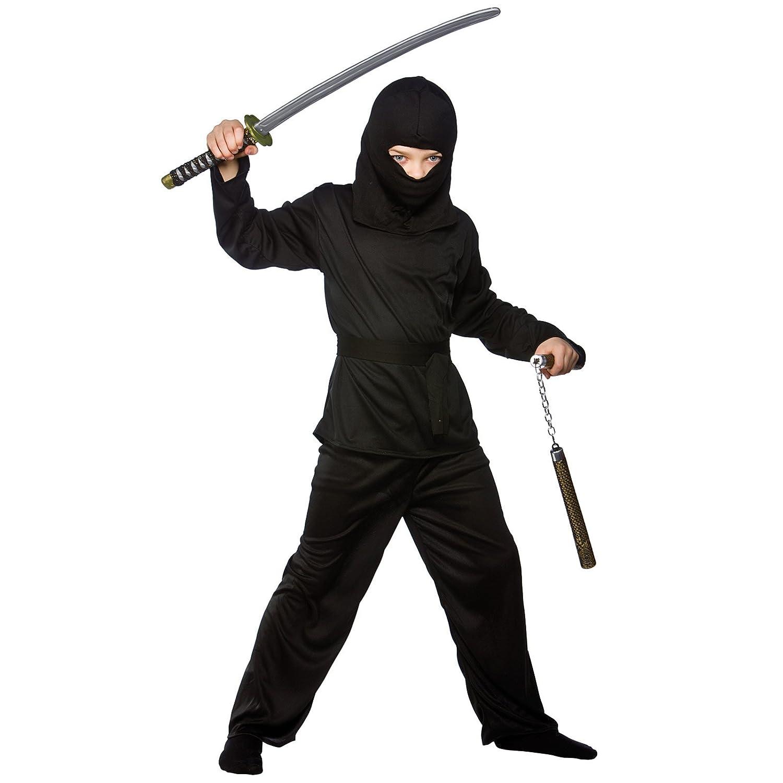 Boys Japanese Dark Ninja Shinobi Historical Halloween Party ...