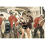 Wall Peel entitled Orchestra of the Circus. 1888-89. RAFFAELLI Jean Franois 1850-1924. The Orchestra of the Circus. 1888-1889. Watercolour. -. Multiple sizes available. Primary colors within this image include Black Gray White. Made in USA. All produ...