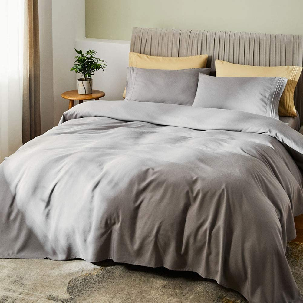 SONORO KATE Bed Sheet Set Bamboo Sheets Deep Pockets 16