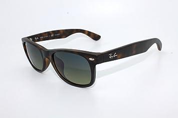 Rayban RB2132 – 894/76 New Wayfarer Gafas de sol para hombre – Tamaño 52