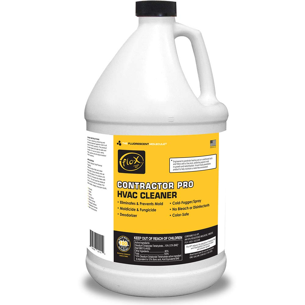 Flo-X Contractor Pro HVAC Cleaner, 1 gal, Set of 4 by FLO-X