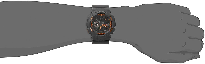 Casio GA-110TS-1A4 - Reloj (Reloj de pulsera, Masculino, Resina, Negro, Resina, Negro): Casio: Amazon.es: Relojes