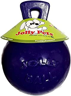 """product image for Jolly Pets Tug-N-Toss Ball Color: Purple, Size: 8"""" H x 6"""" W x 6"""" D"""