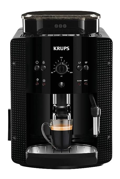 Krups Roma EA81R870 Cafetera súper-automática, 15 bares de presión, molinillo de café cónico de metal, con selección de cantidad e intensidad de café, ...