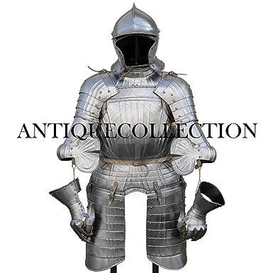 Amazon.com: Medieval Richly - Traje de Renacimiento de Armor ...