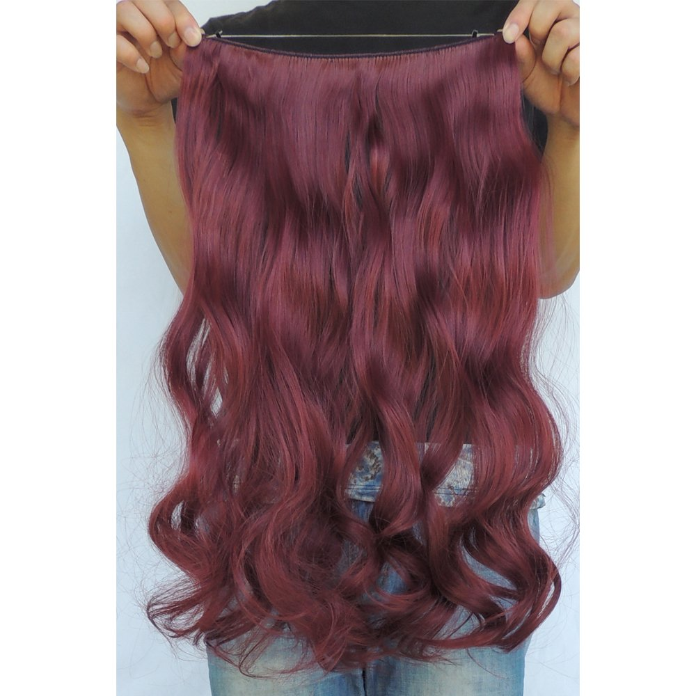 Secret Halo Hair Extensions Flip In Curly Wavy Hair Extension