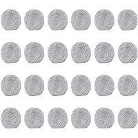 24 piezas limpiador de ventana paño Weeper aspiradora piezas Robot aspiradora fregona húmeda para Hobot168 para Hobot188