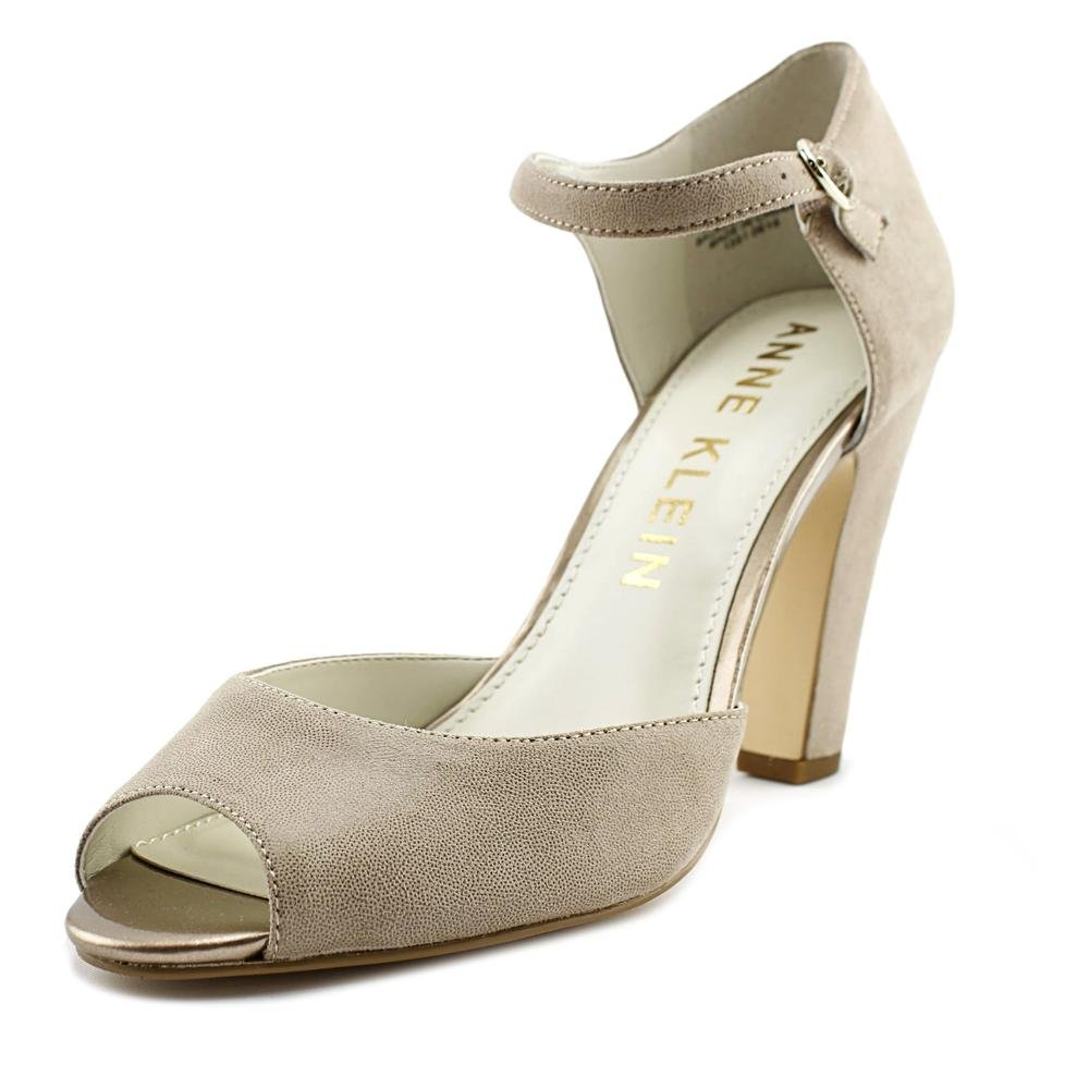 Anne Klein Women's Henrika Fabric Dress Pump B0762PHZPP 8.5 B(M) US|Taupe