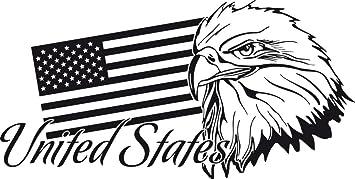 Graz Design 630267_40_070 Wandtattoo Wohnzimmer Deko Ideen Wand Aufkleber  Sticker United States Of Amerika Länder Flagge