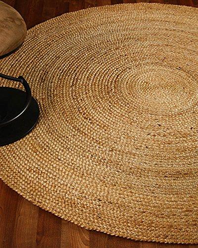 Naturalarearugs Elsinore Jute Round Rug 100 Natural Jute