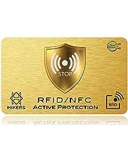 Tarjeta ANTI RFID / NFC Protector de tarjetas de crédito sin contacto, 1 es suficiente, di adiós a las fundias, la billetera queda completamente protegida. Bloqueo de Tarjeta, Protección Billetera
