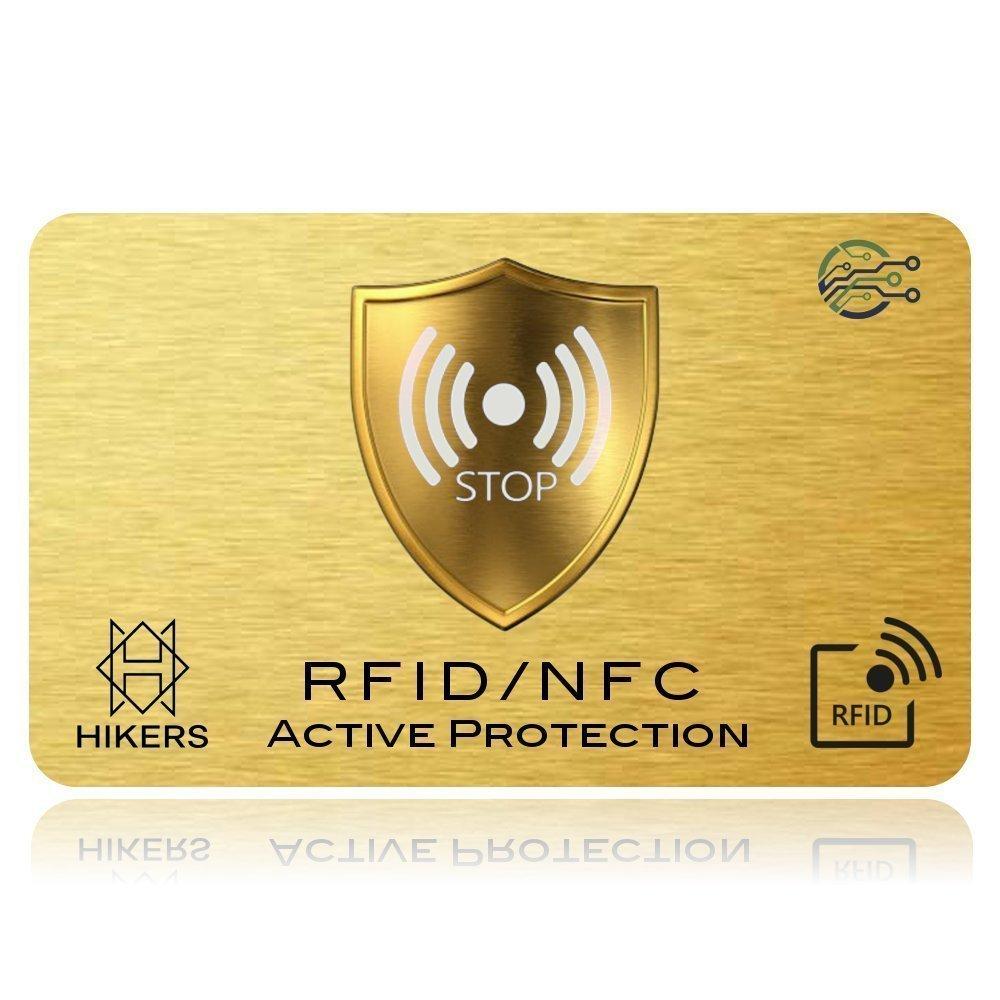 Tarjeta ANTI RFID / NFC Protector de tarjetas de crédito sin contacto, 1 es suficiente