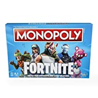 Hasbro MONOPOLY: Fortnite Edition Board Game Inspired by Fortnite Video Game Ages 13 and Up