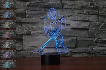 Amazon.com: ybest 3d Ilusión óptica LED de computadora ...