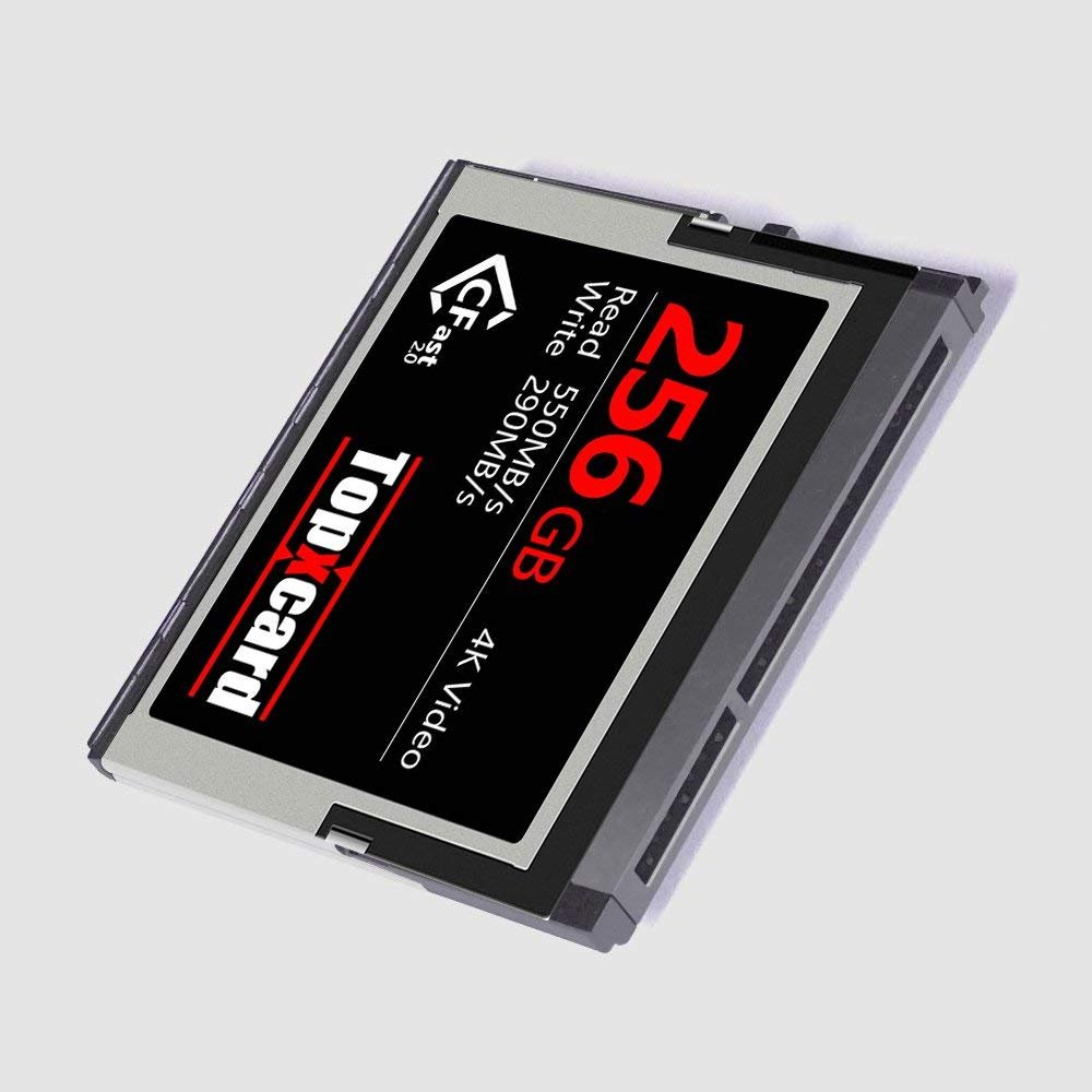 Topxcard High Speed CFast 2.0 256GB Memory Card by Topxcard