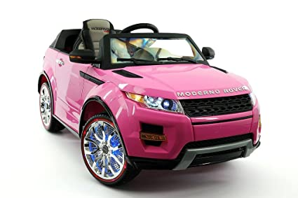 6bc93297b6ae 2017 Pink Range Rover Style 12V Ride On Car W/ Remote Control, 2 Speeds
