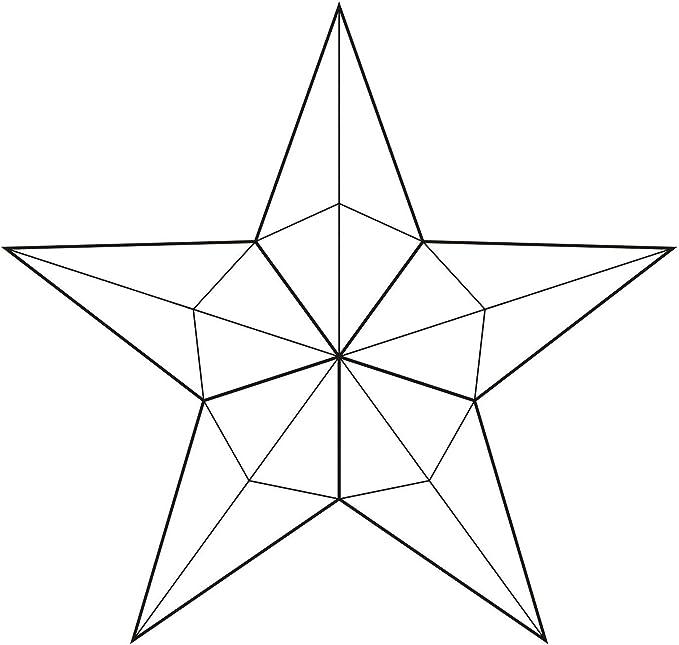 Small Barn Star Bevel Cluster