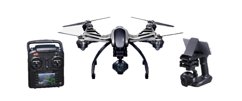 para proporcionarle una compra en línea agradable Yuneec Q500 4K 4K 4K Typhoon Quadcopter Q500 4K - Set sin maletín  ahorre 60% de descuento