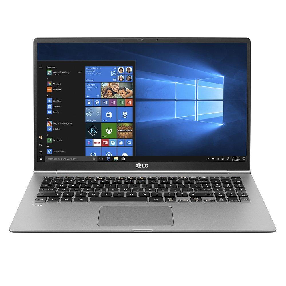 """LG gram Thin and Light Laptop - 15.6"""" Full HD IPS Display, Intel Core i5 (8th Gen), 8GB RAM, 256GB SSD, Back-lit Keyboard - Dark Silver – 15Z980-U.AAS5U1"""