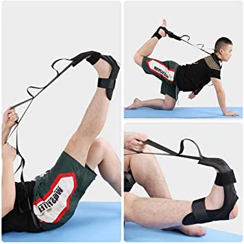 LEZED Cinturón de Estiramiento de Ligamentos de Yoga Correa de Yoga Fitness para Estirar Ligamento Flexibilidad Cinturón de Entrenamiento de ...