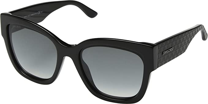 86cf47ddb0a6 Jimmy Choo ROXIE S 807 Black ROXIE S Square Sunglasses Lens Category 2 Size