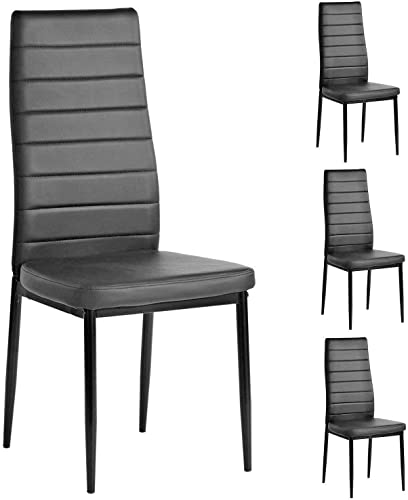 PU Leather Dining Side Chair