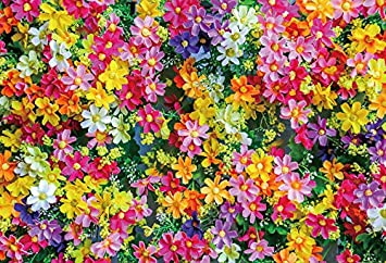 Amazon Com Baocicco Vinyl 5x3ft Backdrop Blooming Flowers