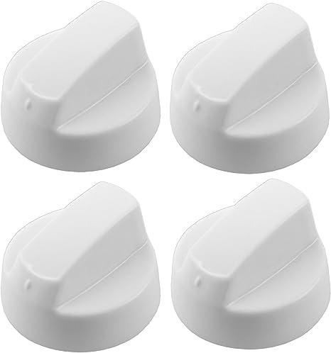 piano cottura Nero Manopola /& Adattatore X 6 forno UNIVERSALE adatto alla Belling Stoves bianca fornello
