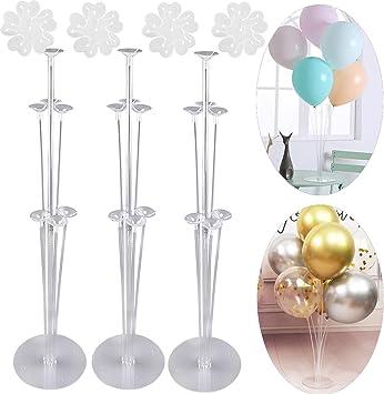 Amazon.com: Soporte para globos y clips de flor – Graduación ...